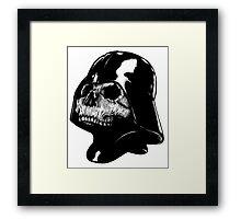 Vader Skull Framed Print
