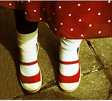 Minnie Mouse Feet Photographic Print