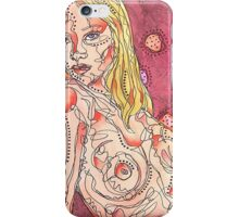 Nude With Circles iPhone Case/Skin