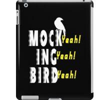Mock Ing Bird Funny Geek Nerd iPad Case/Skin