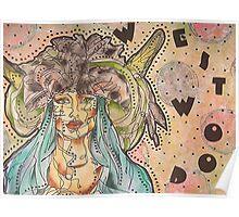 Vivienne Westwood Model Poster