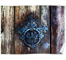 1066 country_series- Battle Abbey door Poster