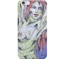 Nude With Red Hair iPhone Case/Skin