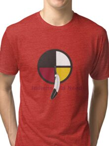 Indians In Need  Tri-blend T-Shirt