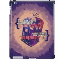 Idris - Doctor Who iPad Case/Skin