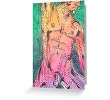 Male Nude 2 Greeting Card