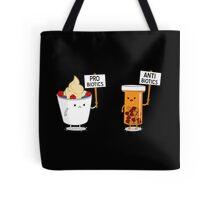 My Gut My Choice Funny Geek Nerd Tote Bag