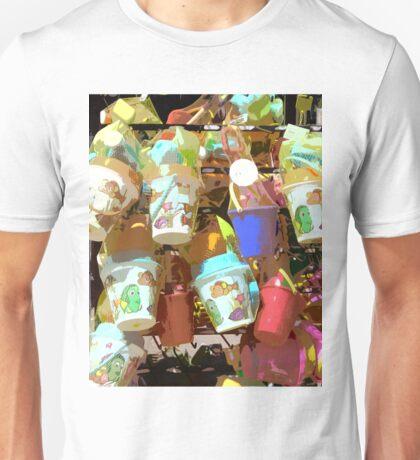 Plastic Buckets Unisex T-Shirt