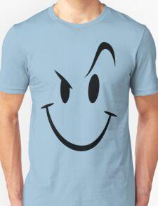 Naughty Smiley Funny Geek Nerd Unisex T-Shirt