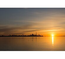 TO Sunrise - Bright, Bold and Beautiful  Photographic Print