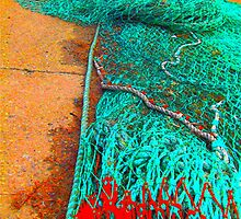 Net Tangle Bright by gailmiller