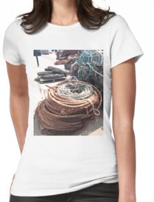 Quayside Study 1 Womens Fitted T-Shirt