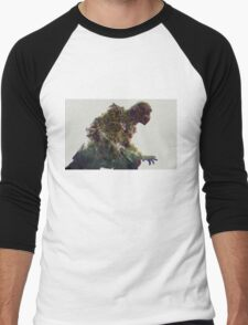mortal kombat. scorpion Men's Baseball ¾ T-Shirt