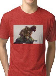 mortal kombat. scorpion Tri-blend T-Shirt