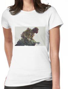 mortal kombat. scorpion Womens Fitted T-Shirt