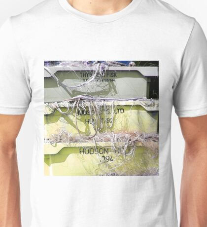 Stack Of Fishing Net Skips Unisex T-Shirt