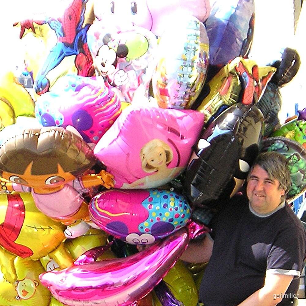 Balloon Man by gailmiller