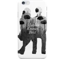 Bates Motel - Mother Knows Best iPhone Case/Skin