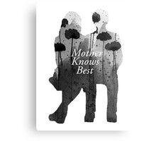 Bates Motel - Mother Knows Best Metal Print