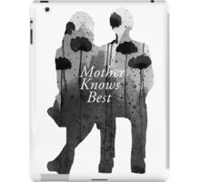 Bates Motel - Mother Knows Best iPad Case/Skin