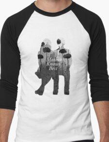 Bates Motel - Mother Knows Best Men's Baseball ¾ T-Shirt