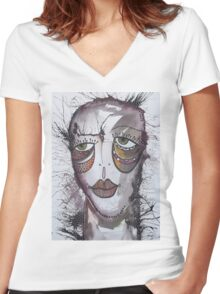Emotion 2 Women's Fitted V-Neck T-Shirt