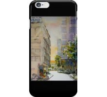 Sunlight id1340672 watercolor painting iPhone Case/Skin