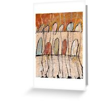 Abstract Composition 2 Greeting Card