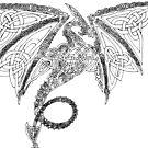 Knotworked Dragon by Windsmane