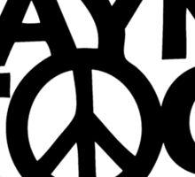 Wayne's World Waynestock Sticker