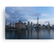 TO Harbour - Toronto's Skyline From The Island Airport Canvas Print