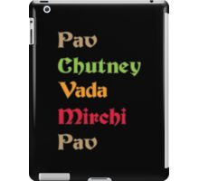 Pav Chutney Funny Geek Nerd iPad Case/Skin