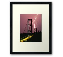 Narrow Escape Framed Print