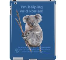 I'm helping wild koalas - Cloud iPad Case/Skin