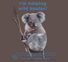 I'm helping wild koalas - Cloud One Piece - Short Sleeve