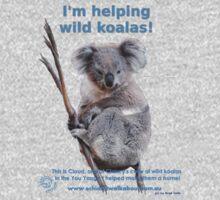 I'm helping wild koalas - Cloud One Piece - Long Sleeve