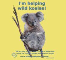 I'm helping wild koalas - Cloud Kids Tee