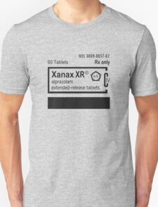 Prescription XANAX T-Shirt