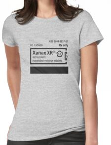 Prescription XANAX Womens Fitted T-Shirt