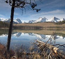 Redfish Lake by Christopher  Boswell