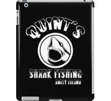 quints shark fishing amity island Funny Geek Nerd iPad Case/Skin