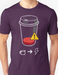 Refill Required Funny Geek Nerd T-Shirt
