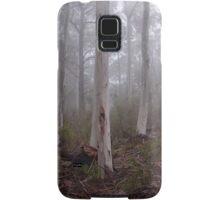 Tree trunks in the fog Sinclair's Gully Winery, Norton Summit Samsung Galaxy Case/Skin