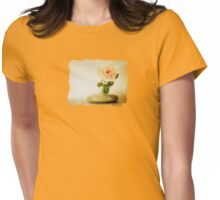 Vintage Rose - JUSTART © Womens Fitted T-Shirt