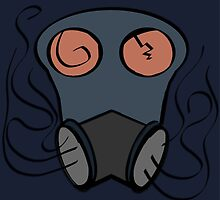 Abstract Gas Mask by Magellan360