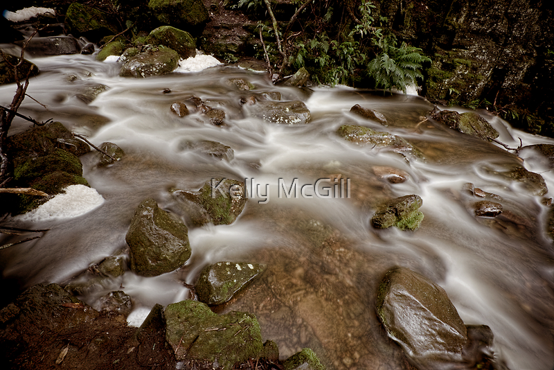 Strickland Falls, Hobart by Kelly McGill