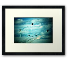 Air Force Thunderbirds  Framed Print