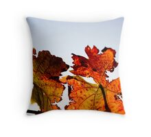 Red, red vine Throw Pillow
