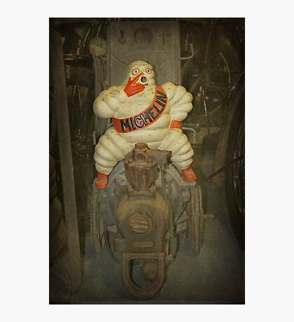 Vintage Michelin Man Photographic Print
