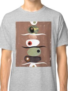Simple Shapes Earthy Classic T-Shirt